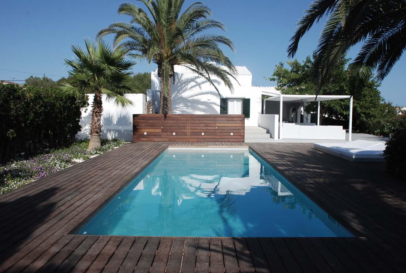Construcci n de piscinas en menorca menorca villas for Construccion de piscinas en mallorca